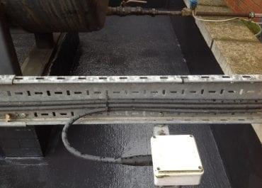 Diesel bund coating